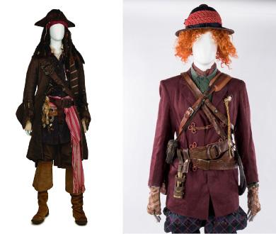 『アリス・イン・ワンダーランド/時間の旅』『パイレーツ・オブ・カリビアン/最後の海賊』ジョニー・デップのアイディアが詰まった衣裳と小道具
