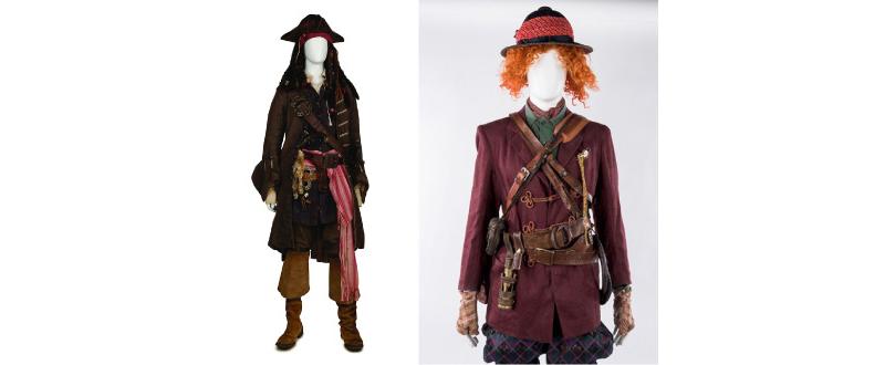 『アリス・イン・ワンダーランド/時間の旅』 『パイレーツ・オブ・カリビアン/最後の海賊』 ジョニー・デップのアイディアが詰まった衣裳と小道具