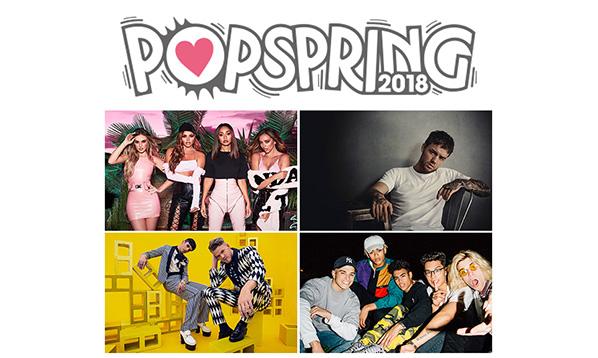 POPSPRING 2018 第2弾ラインナップ発表!先行受付中!!
