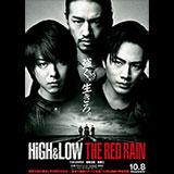 映画「HiGH&LOW THE RED RAIN」Loppi限定 ポスター型カレンダー2枚セット 引換券付前売券