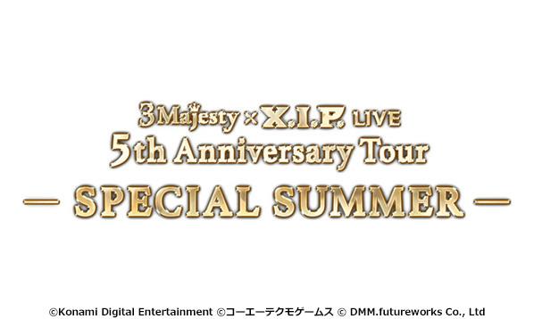 3 Majesty × X.I.P. LIVE