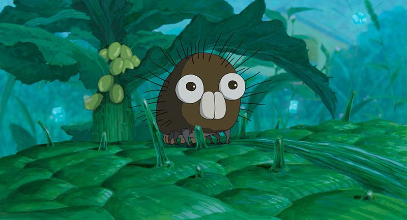 スタジオジブリ毛虫のボロ
