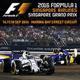 2016 FORMULA 1 SINGAPORE AIRLINES SINGAPORE NIGHT RACE