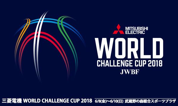 三菱電機 WORLD CHALLENGE CUP 2018