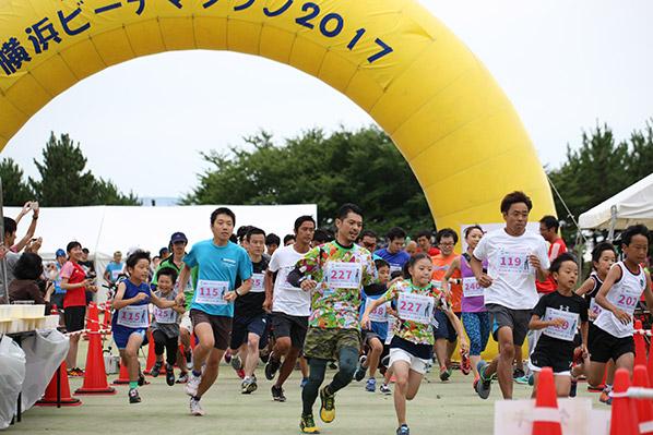 横浜ビーチマラソン2018
