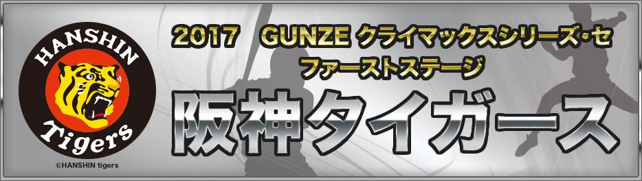 阪神タイガース|2017 GUNZE クライマックスシリーズ・セ ファーストステージ