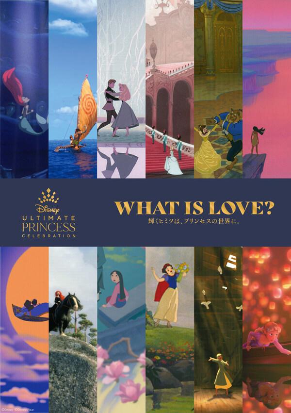 ディズニープリンセス展 WHAT IS LOVE?~輝くヒミツは、プリンセスの世界に。~