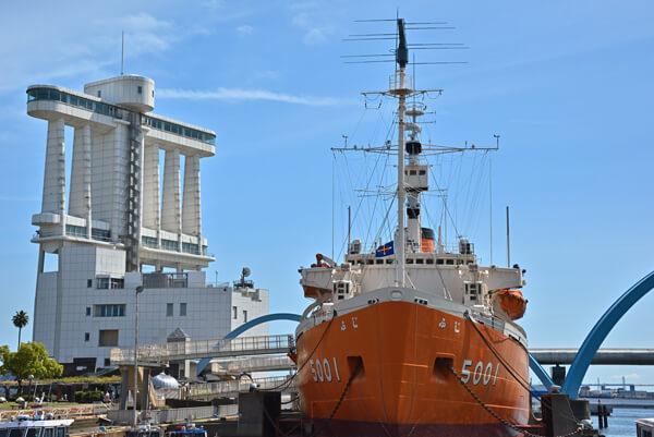 ポートビルと南極観測船ふじ