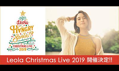 "Leola Christmas Live 2019 ""HANGRY SANTA!?"""