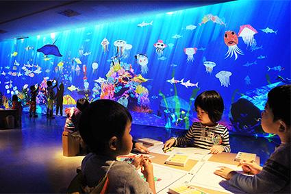 お絵かき水族館 / Sketch Aquarium