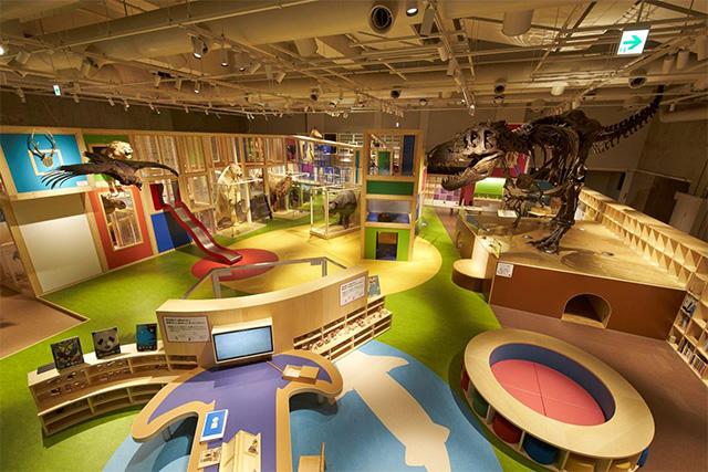 国立科学博物館「親と子のたんけんひろば コンパス」