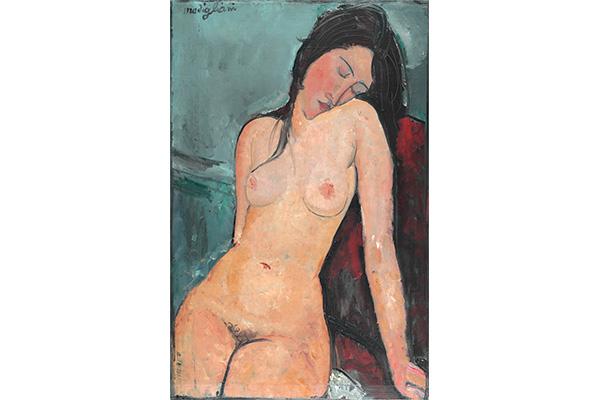 アメデオ・モディリアーニ《裸婦》