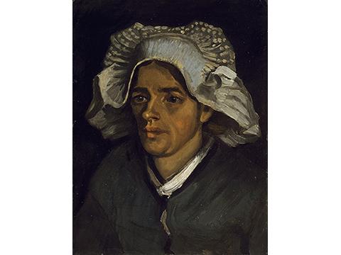 フィンセント・ファン・ゴッホ《農婦の頭部》