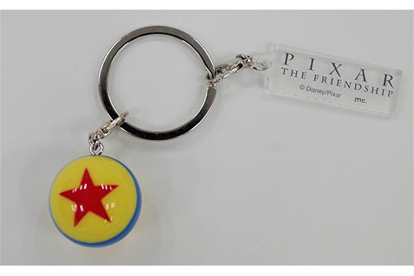 マスコット付キーホルダー PIXAR/ボール