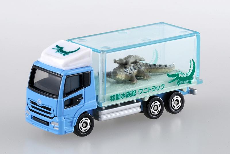 イベントモデルNo.5 UDトラックス クオン 移動水族館 わにトラック