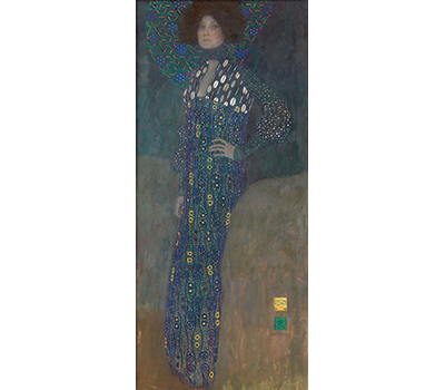 グスタフ・クリムト《エミーリエ・フレーゲの肖像》