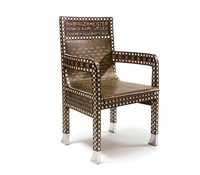 オットー・ヴァーグナー《カール・ルエーガー市長のための椅子》