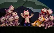 人形劇「11ぴきのねことへんなねこ」