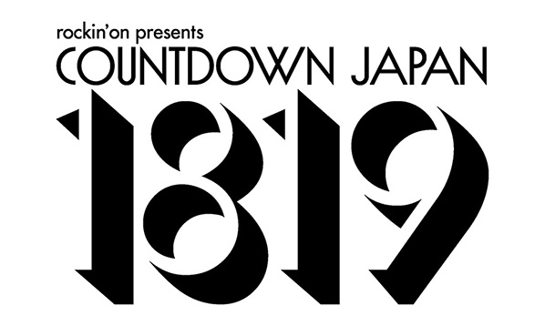 COUNTDOWN JAPAN 18/19 12/8一般発売