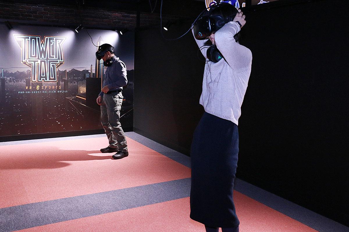 東京ジョイポリスVR体験