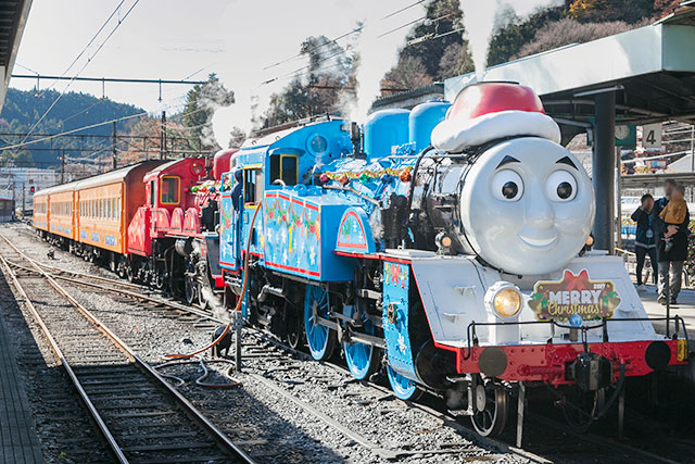Day Out With Thomas 2018 クリスマス特別運転2018
