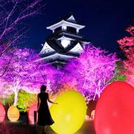 チームラボ 高知城 光の祭が11/22より開催