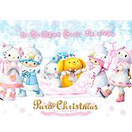 サンリオピューロランド ホワイトクリスマスをテーマにした「ピューロクリスマス」開催