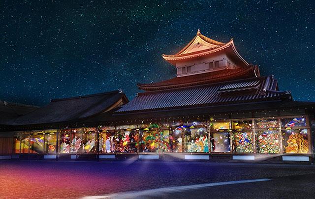 名古屋城×NAKED