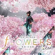 桜お花見イベント FLOWERS BY NAKED