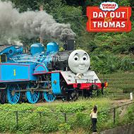 蒸気機関車の「きかんしゃトーマス号」が走るイベント『DAY OUT WITH THOMAS』開催スケジュールが決定