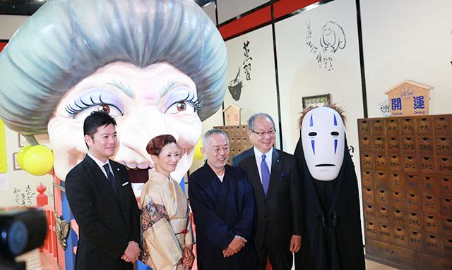 鈴木敏夫とジブリ展(東京・神田明神)