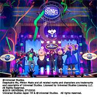 ユニバーサル・スタジオ・ジャパンに新アトラクション『SING ON TOUR』が遂にグランドオープン