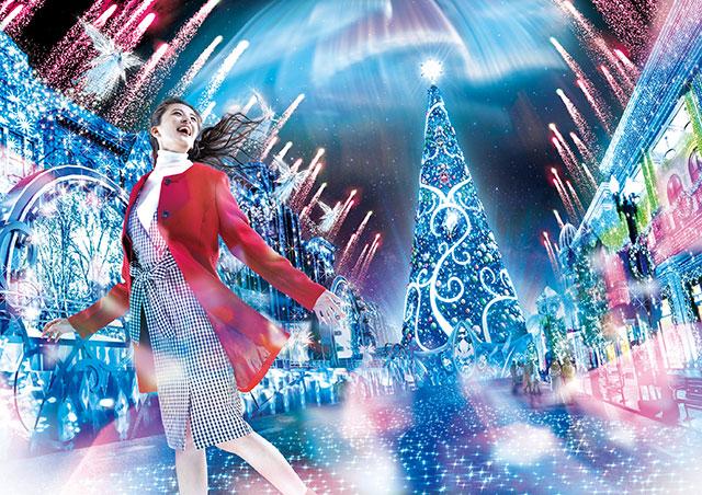 ユニバーサル・スタジオ・ジャパン『ユニバーサル・クリスタル・クリスマス』