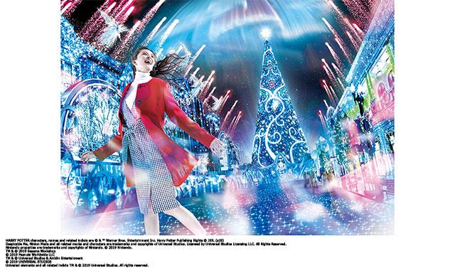 10年ぶりの完全一新!『ユニバーサル・クリスタル・クリスマス』開催中