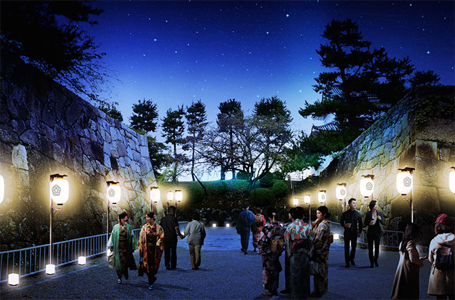 NAGOYA MEETS NEW HISTORY 名古屋城夜会