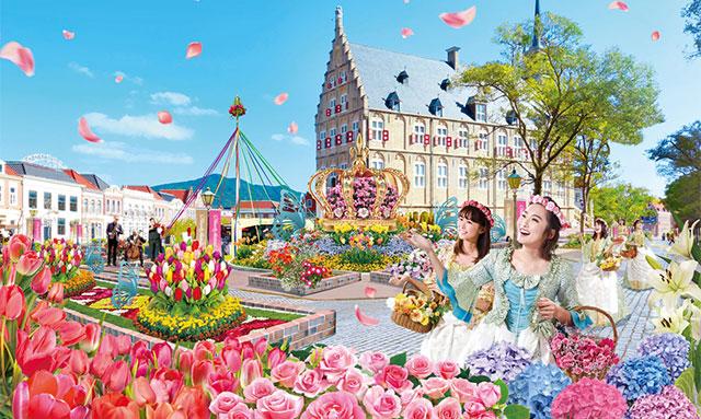 長崎・ハウステンボス2020春イベント