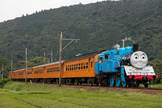 蒸気機関車の「きかんしゃトーマス号」が2021年も運行決定!