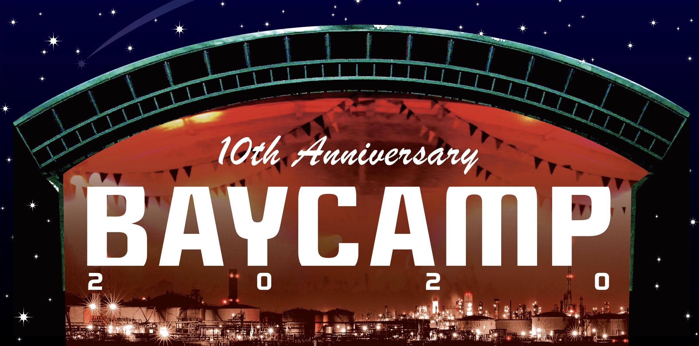 ATFIELD inc. 20th presents BAYCAMP 2020 10th Anniversary