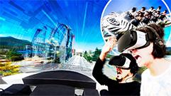 VR アトラクション「ほぼドドンパ」