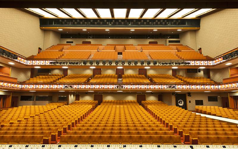 舞台からの客席