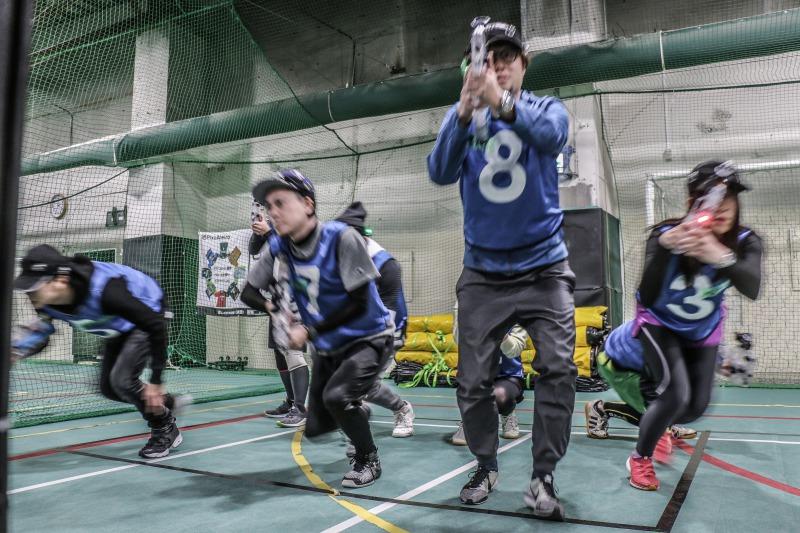 [次世代スポーツ]フラッグハント練習会