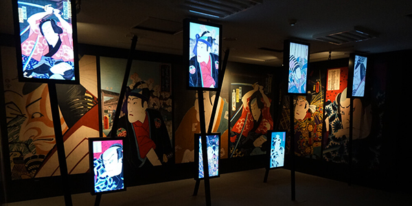「スーパー浮世絵「江戸の秘密」展」